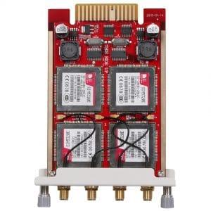 Modulo 4WCDMA Zycoo Scheda per 2 SIM 3G- Vista Verticale
