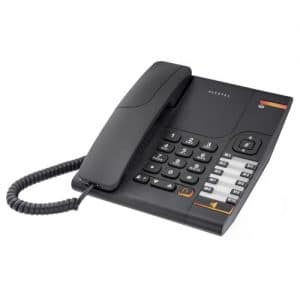 IP-Phone Alcatel Temporis 380 - Vista Laterale Sinistra