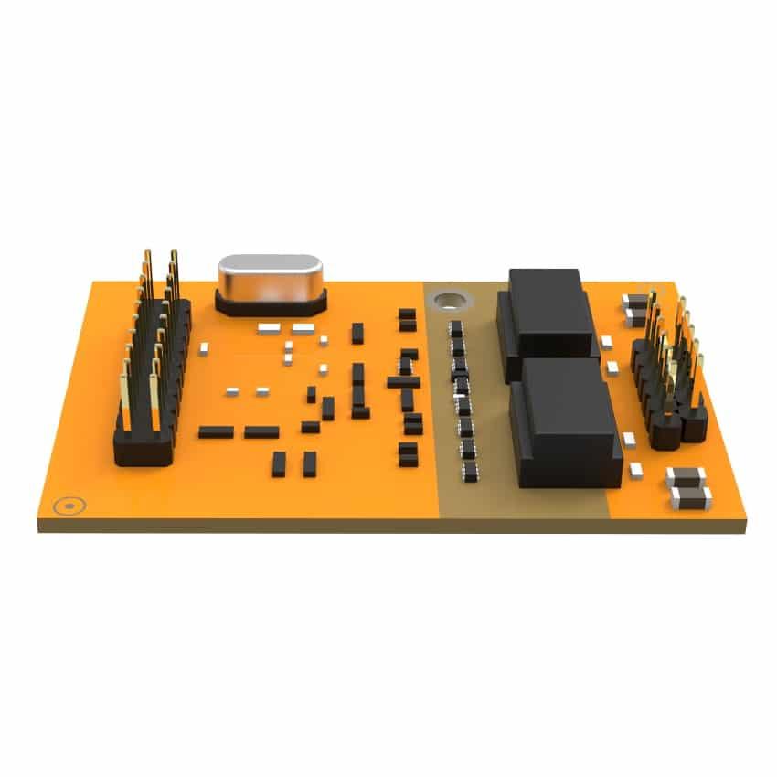 Modulo B2 Yeastar - Vista Lato Destro
