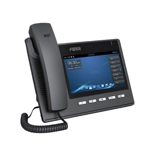 IP-Phone Fanvil C400 - Vista Laterale Destra