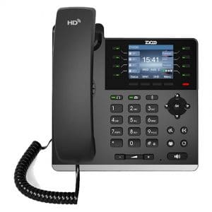 IP-Phone Zycoo H83 - Vista Frontale