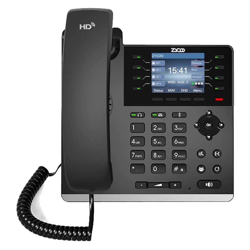 IP-Phone Zycoo H83 - Vista Frontale