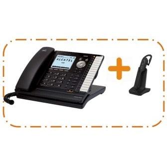 IP-Phone Alcatel Temporis IP701+IP70H - Vista Laterale Sinistra