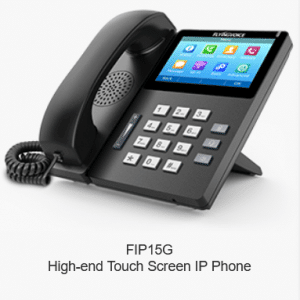 FIP15G Hig-end Touch Screen IP Phone