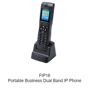 Cordless WiFi Flyingvoice FIP16 IP Phone Business Portatile Dual Band