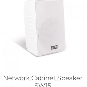 IP Audio SC15 Altoparlante da Parete Vista Fianco Sinistro