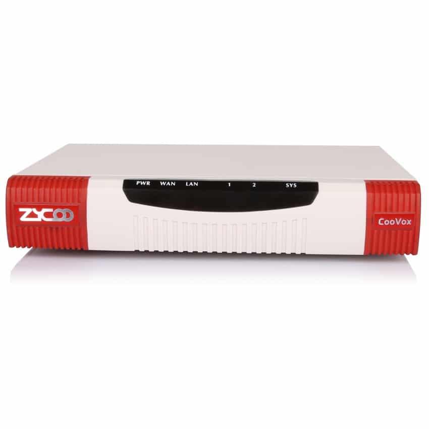 IP-PBX U20 V3 Zycoo - Vista Frontale