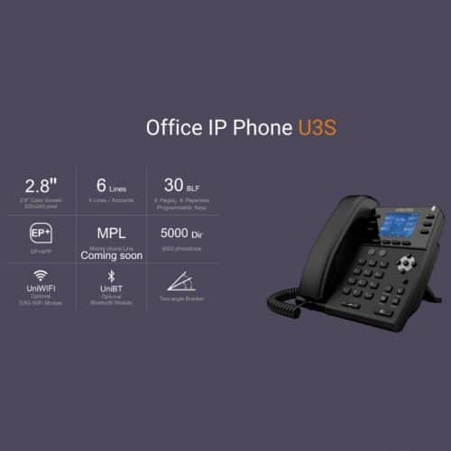 IP-Phone Univois U3S - Tabella Caratteristiche