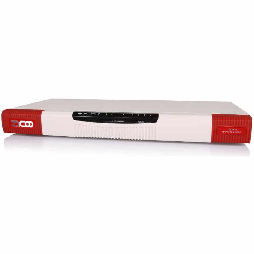 IP-PBX U50 V3 Zycoo - Vista Laterale Sinistra