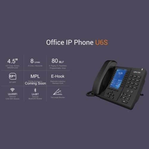 IP-Phone U6 Univois - Tabella Caratteristiche