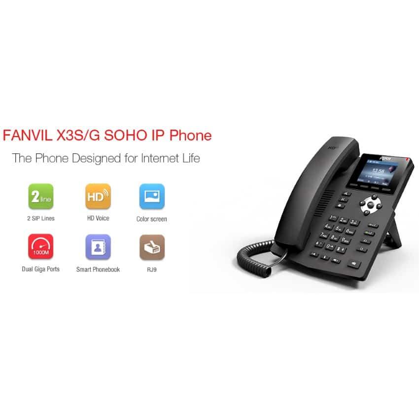 IP-Phone Fanvil X3G - Tabella Caratteristiche