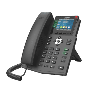 IP-Phone Fanvil X3U - Vista Laterale Sinistra