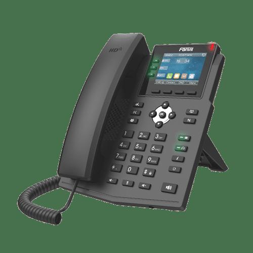 IP-Phone Fanvil X3U - Vista Laterale Sinistra