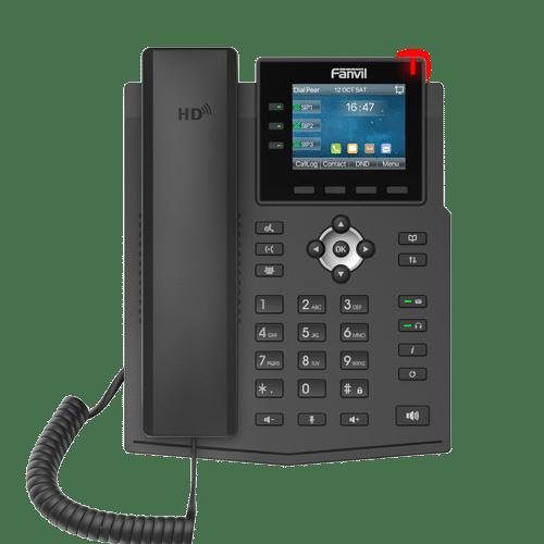 IP-Phone Fanvil X3U - Vista Frontale