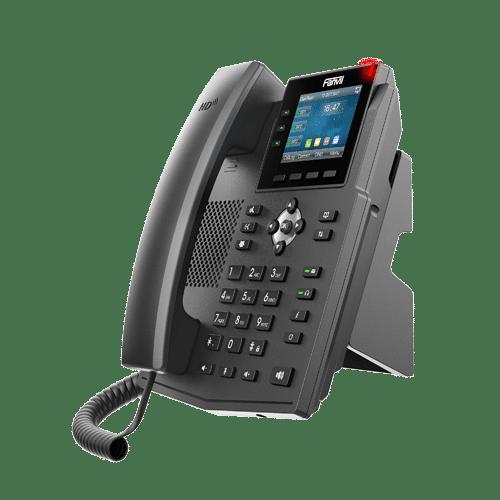IP-Phone Fanvil X3U - Vista Fianco Sinistro