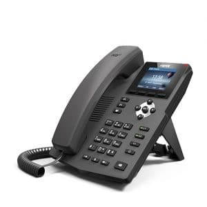 IP-Phone Fanvil X3 - Vista Laterale Sinistra