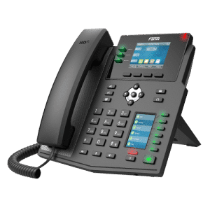 IP-Phone Fanvil X4U - Vista Laterale Sinistra