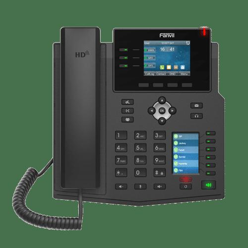 IP-Phone Fanvil X4U - Vista Frontale