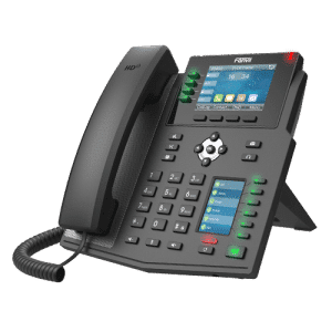IP-Phone Fanvil X5U - Vista Laterale Sinistra