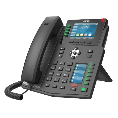 IP-Phone Fanvil X5U - Vista Laterale Sinistra