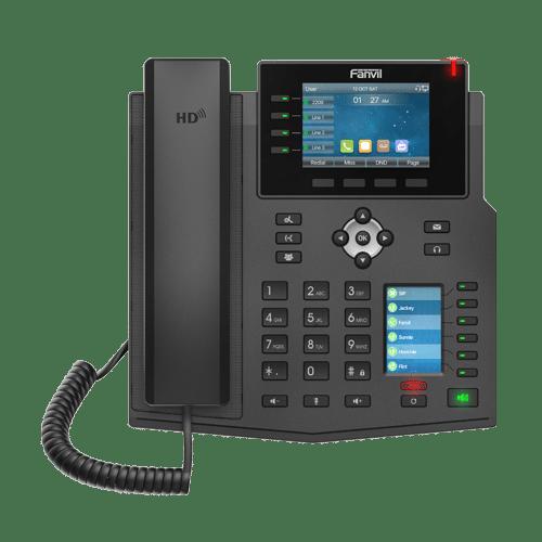 IP-Phone Fanvil X5U - Vista Frontale