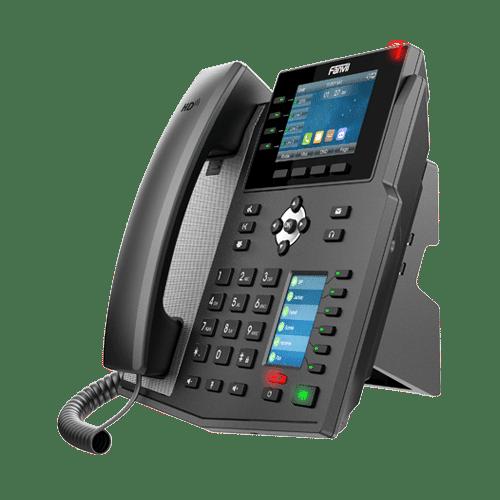 IP-Phone Fanvil X5U - Vista Fianco Sinistro