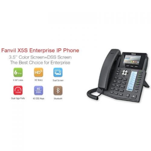 IP-Phone Fanvil X5S - Tabella Caratteristiche