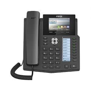 IP-Phone Fanvil X5S - Vista Frontale