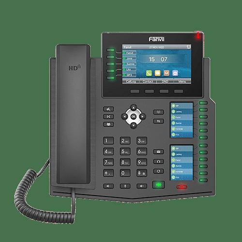 IP-Phone Fanvil X6U - Vista Frontale