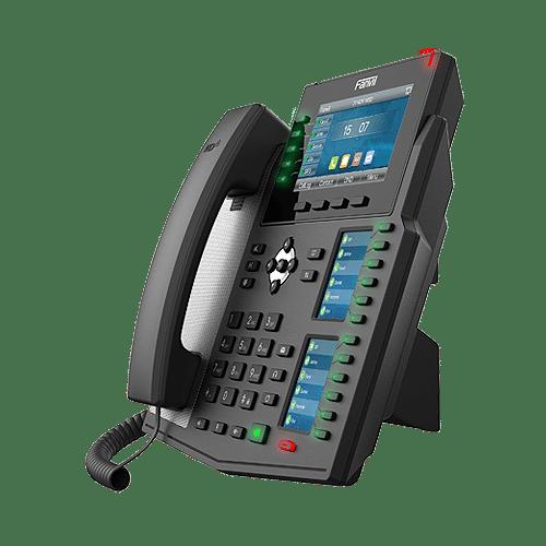 IP-Phone Fanvil X6U - Vista Fianco Sinistro