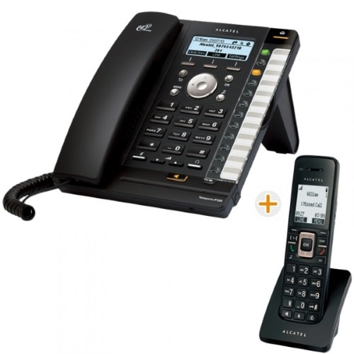 IP-Phone Alcatel Temporis IP301G+IP315 - Vista Laterale Sinistra
